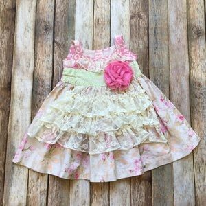 Giggle Moon Floral Lace Dress